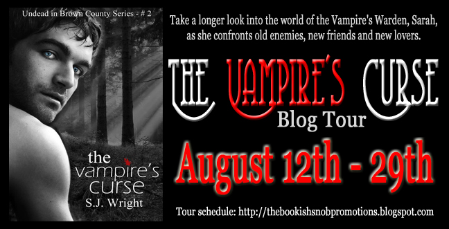 The Vampire's Curse Blog Tour & Giveaway
