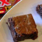 Twix Peanut Butter Brownies