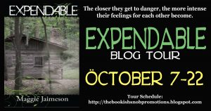 Expendable Book Tour and Contest