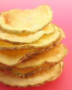 Homemade Potato Chips #recipe