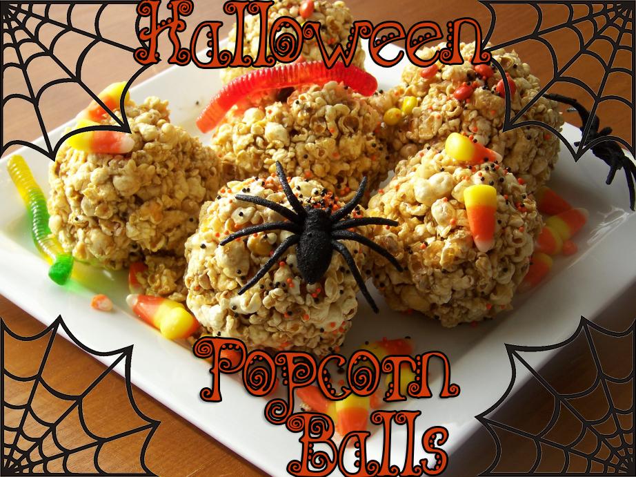 Halloween Popcorn Balls Recipe