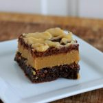 Peanut Butter Cookie Dough Brownies #recipe