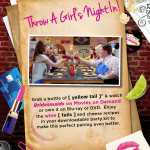 Have a Girls Night In, Drink Recipe, & PrizePack