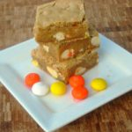 M&M Candy Corn Blondies Recipe