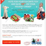 "Take the North ""Poll"" and Save 25% at MelissaAndDoug.com"