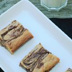 Nutella Swirl Bars Recipe