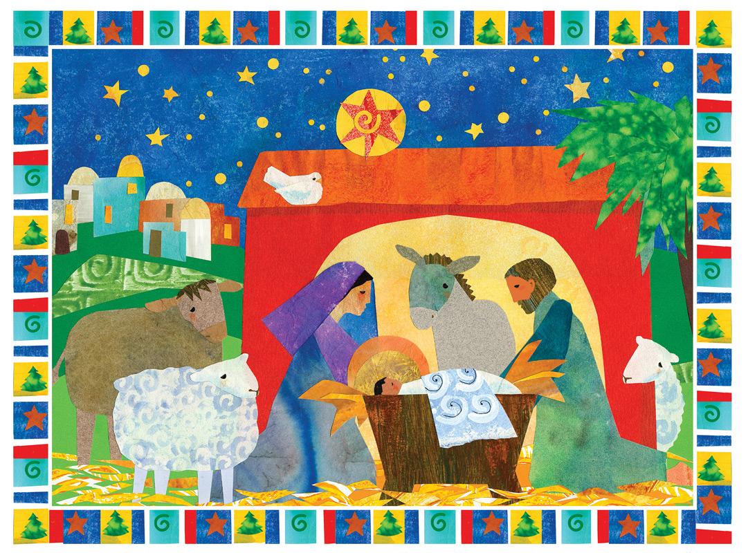 Religious Advent Calendar Ideas : Free advent calendar printable paper trail design
