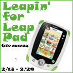 Leapin' for Leap Pad {Giveaway}