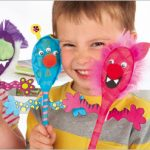Rainy Days Kid's Crafts – Spoon Puppets