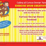 Curious George Dance Contest #CuriousGeorgeMoms