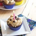 Brownie Cupcakes with Cookie Dough Frosting Recipe
