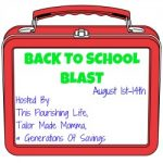 Blogger Event – Back To School Blast Giveaway Hop Sign-Ups