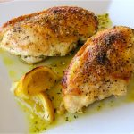 Basil, Lemon and Pepper Chicken Breasts Recipe