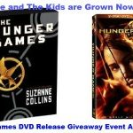 Hunger Games: 3 Book Trilogy & DVD Movie Giveaway Event