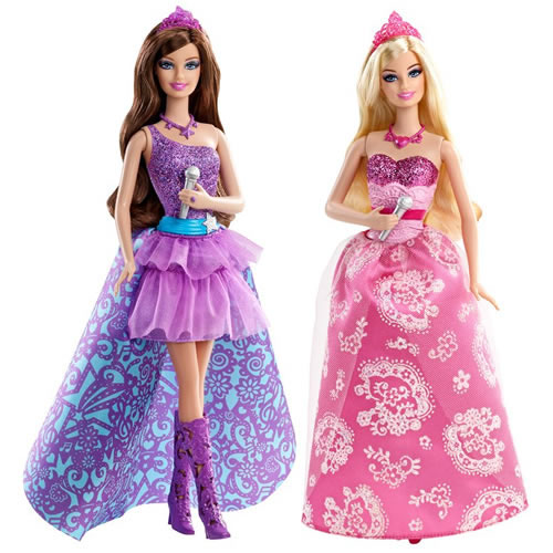 barbie popstar and princess