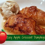 Easy Caramel Apple Crescent Dumplings
