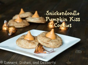 Easy Pumpkin Snickerdoodle Cookies
