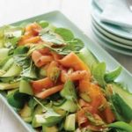 Smoked Salmon and Spinach Salad with Avocado