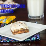 Butterfinger Blondies Dessert Recipe