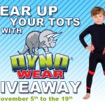 Gear Up Your Tots with DYNOWEAR