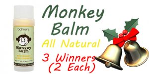 Monkey Balm #Time4mommyHolidayGiftGuide