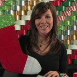 How To Make A Duct Tape Christmas Stocking