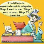 Organizing Funny