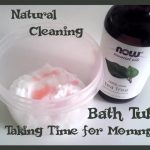 All Natural Bath Tub Cleaner