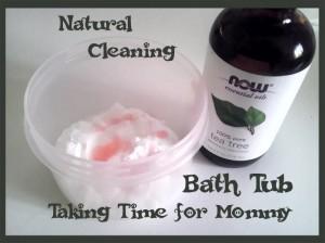 All Natural Bath Tub Cleaner