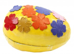 Paper Mache Spring Craft: Easter Egg!
