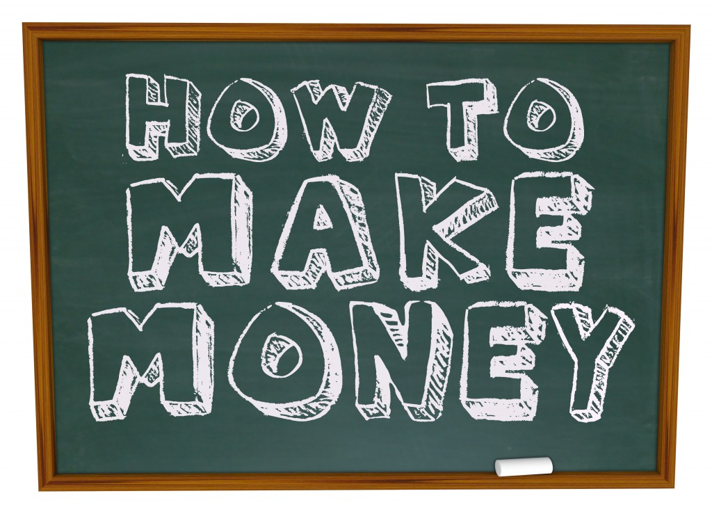 How to Make Money - Chalkboard