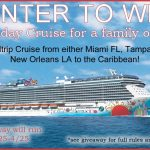 7 Day Cruise for a Family of 4 Giveaway