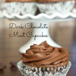 Dark Chocolate Mint Cupcakes