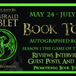 Legends of Amun Ra: The Emerald Tablet Book Tour