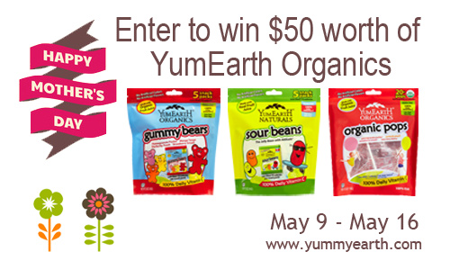$50 YumEarth Organics Candy Group Giveaway