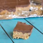 Biscoff Rice Krispie Treats #Recipe #Dessert