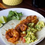 Chile Spiced Shrimp Tacos