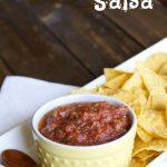 Restaurant Style Salsa #Recipe