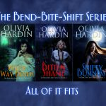 The Bend-Bite-Shift Series New Cover Reveal