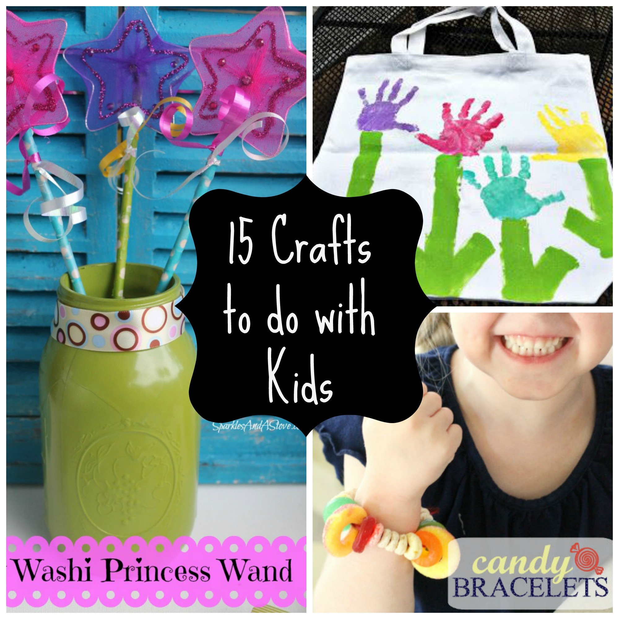 15 easy crafts to do with kids for Simply crafts
