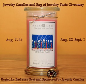 Jewelry Candle giveaway aug 2013