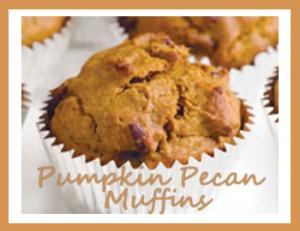 Pumpkin Pecan Muffins Recipe