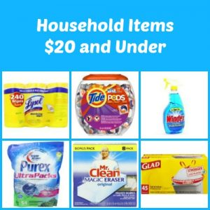 Household Supplies $20 and Under Amazon Round Up