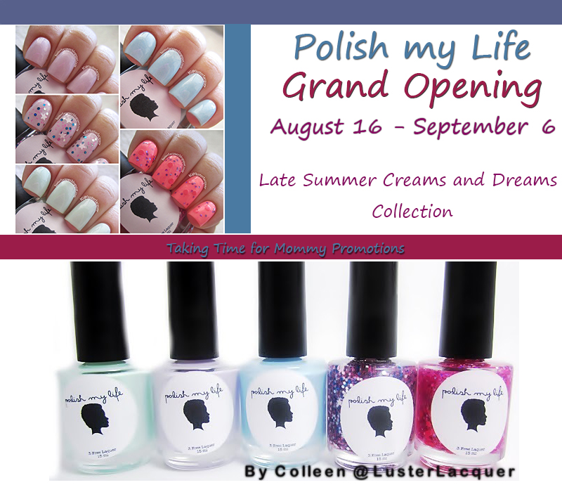 Love Colorful Bedazzling Nails? Meet Polish My Life! #giveaway ...
