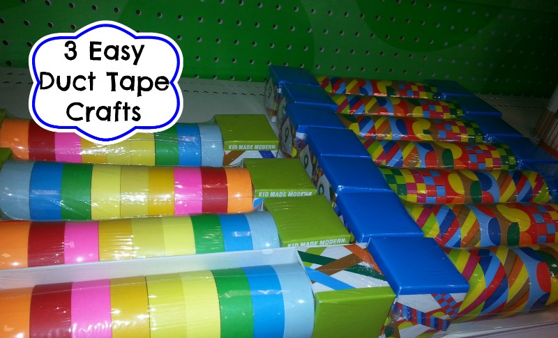 3 easy duct tape crafts for Duct tape bedroom ideas
