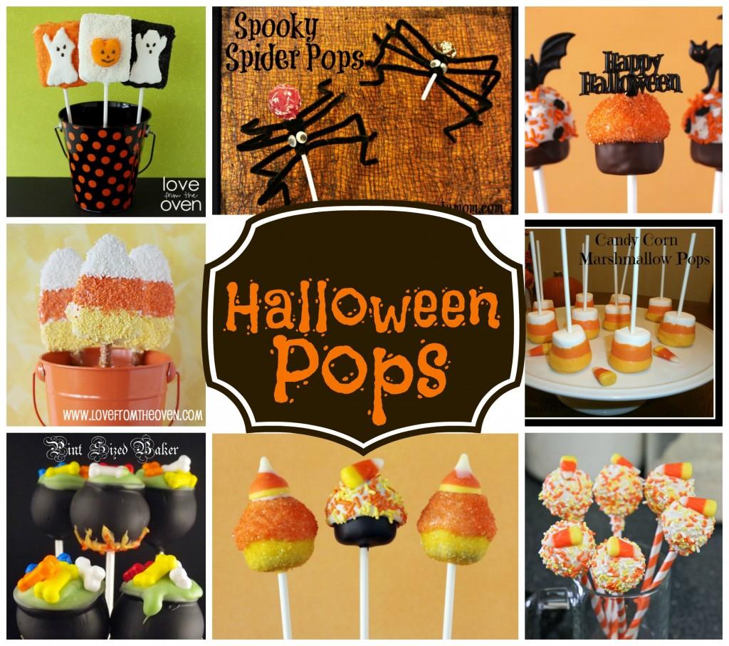 Fun Halloween Pops