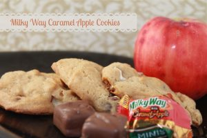 Milky Way Caramel Apple Cookies Recipe