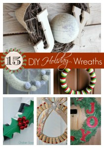15 DIY Holiday Wreaths for you to Make