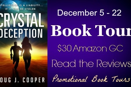 Crystal Deception Book Tour