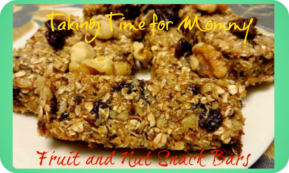 #TheNutJob Fruit And Nut Snack Bars